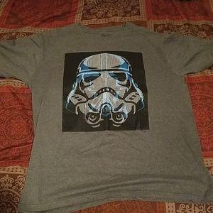 Stormtrooper/Darth Vader Star Wars Shirt